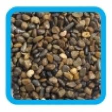 Грунт 20205C темно-коричневый меланж, 2кг, 6-9мм, Laguna