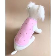 Майка L Барби розовая--