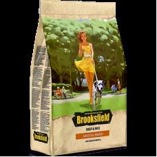 BROOKSFIELD Dog 3кг Adult All Breeds Beef д/взрослых собак говядина/рис 1/4  0171