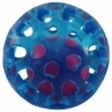 Мяч игрушка д/собак из термопласт. резины Сфера с шариком d65мм Triol