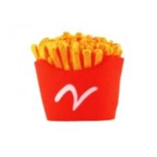 Картофель игрушка д/собак YUGI с пищалкой картофель фри винил 9см /YT3189/