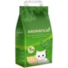 Наполнитель 5л(3кг) Древесный впитывающий Aromaticat  (00384035   )