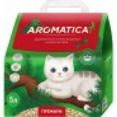 Наполнитель 5л(2кг) Древесный комкующийся наполнитель Aromaticat PREMIUM (00384037   )