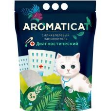 Aromaticat Диагностический с pH 3л(1,25кг) Силикагелевый гигиенический наполнитель 1/12*