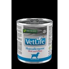 FARMINA Vet Life Dog 300г конс.Hypoallergenic Утка с картофелем 2802 1/6 (00384100   )