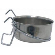 Миска 0,89 л металлическая на крючках(1х12шт, 144 шт/кор)УЮТ