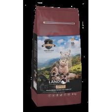 LANDOR 2кг д/кошек с избыточным весом и стерилизованных кролик с рисом 9937 1/6 (00384537   )