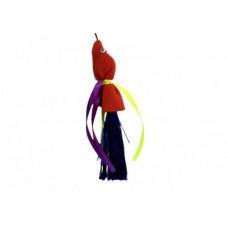 Дразнилка Золотая Рыбка красная с пищалкой на резинке. Этикетка флажок sh-07286 (00385108   )
