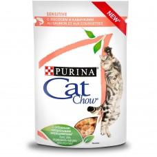 CAT CHOW 85,0 пауч д/кошек СЧувПищ Соус Лос&Каб 1/24 (00385567   )