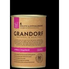 GRANDORF DOG 400,0 конс д/собак Буйвол/Индейка 4349 1/6