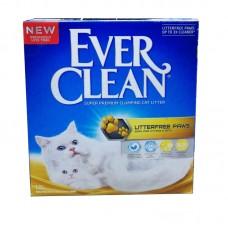 Ever Clean Litter free Paws 10л комкующийся наполнитель д/идеально чистых лап 214117 (00386055   )