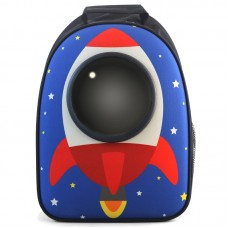 Рюкзак-переноска для животных Ракета 450*320*230мм Triol