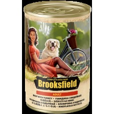 BROOKSFIELD Dog 400гр Adult конс.д/собак Говядина/Индейка/рис