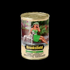 BROOKSFIELD Dog 400гр Adult конс.д/собак Говядина/Утка/рис 1/12 (00386414   )