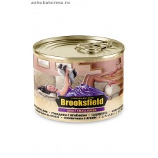BROOKSFIELD Dog 200гр Adult Small Breed конс.д/собак мелких пород  Говядина/Ягнёнок 1/12 (00386417   )