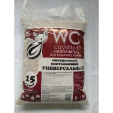 WC Cat/Kitten 15л/8кг  впитывающий Универсальный красный 1/60 (00386931   )