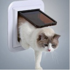 Дверца для кошки магнитная, 16,5 х 21,6 см ТРИКСИ
