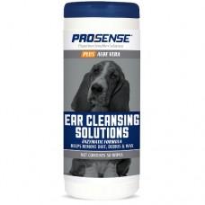 Салфетки  Гигиенические для ушей, для собак и кошек, 50шт Pro-Sense Plus Ear Wipes EJ87081  (00388521   )