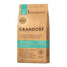 GRANDORF DOG 1кг ALL BREEDS   4 Meat&Rice PROBIOTIC 6018   1/10 (00388559   )