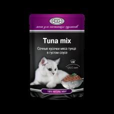 GINA пауч. д/кошек тунец микс 85 гр 0978 1/24 (00388771   )