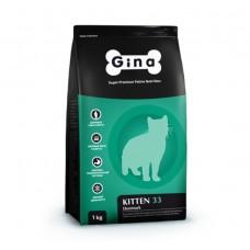 Gina Kitten-33 Denmark Chicken 1кг 3443 (00388790   )