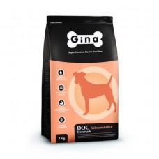 Gina Dog Salmon & Rice гипоаллергенный 3 кг 4587 (00388799   )