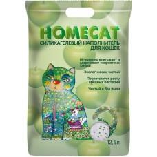 HOMECAT 12,5л/5кг силикагелевый, 415 King Star, Яблоко 415 (00389898   )