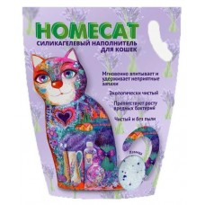 HOMECAT 12,5л/5кг силикагелевый, 415 King Star,Лаванда  415 (00389899   )