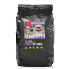 BLITZ Holistic CHICKEN & LIVER FOR STERILISED низкозер корм для стер. кошек  Курица&Печень/5 кг 5753 (00389917   )