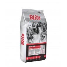 BLITZ Sensitive 15кг д/с ADULT BEEF & RICE Говядина и рис 1358 (00389928   )