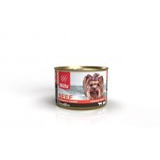 BLITZ 200 гр Говядина с тыквой, корм консерв.полнорац д/собак мелких пород    1549 (00390300   )