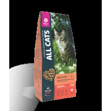 ALL CATS 2,4кг д/кошек взрослых говядина/овощи 1/5 (00390365   )