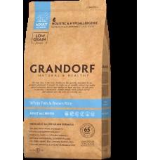 GRANDORF DOG White Fish&Rice ALL BREEDS (белая рыба с рисом для собак всех пород) 1 кг.0015 (00390399   )