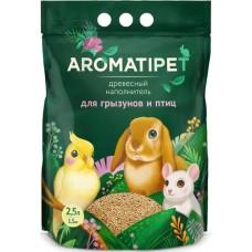 AromatiPet 2,5л (1,5кг) Древесный наполнитель для Грызунов и Птиц (00390593   )