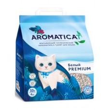 AromatiCat PREMIUM БЕЛЫЙ 10л (4кг) Впитывающий гигиенический наполнитель  (00390598   )