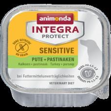 Animonda 150 гр. Integra Protect Sensitive конс. c индейкой и пастернаком для взрослых собак 5395 (00390694   )