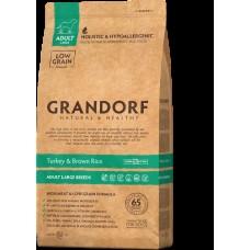 GRANDORF DOG 3кг Turkey&Rice LARGE BREEDS (индейка с рисом для собак крупных пород) . (00390856   )