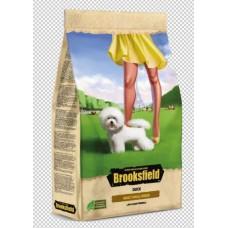 BROOKSFIELD Adult Dog Small Breed Сухой корм для взрослых собак мелких пород 6кг Утка/рис, 10323010/090821/0134946/1, 05.01.2023 (00391075   )