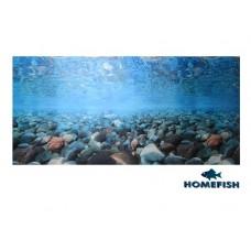 Фон д/аквариума 40*1500см HOMEFISH Морские камни  (00391466   )