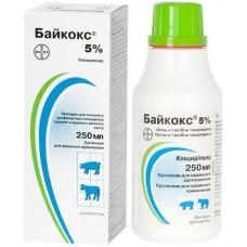Байкокс  5% орал.р-р 250 мл.