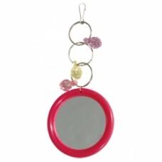 Игрушка д/птиц Триол зеркало с фруктами051-КХ